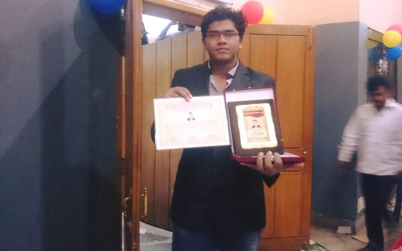 Award for excellent performance in studies (2015)